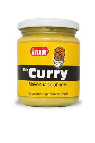 Curry Salat Mayonnaise -bio- , vegan